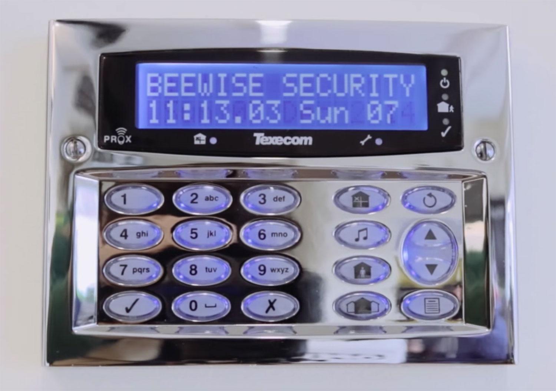 bee-wise-alarm-keypad